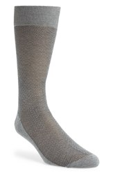 Men's Canali Solid Cotton Socks