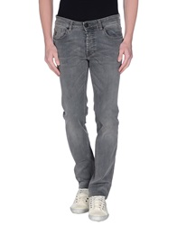 Fay Denim Pants Grey