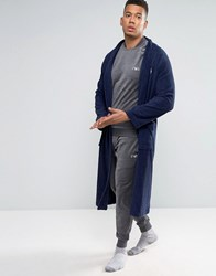 Emporio Armani Slim Cuffed Sweatpants In Chenille Grey
