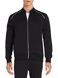 Sovereign Code Landon Zip Trim Track Jacket Black