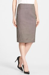 Women's Classiques Entier Wool Suiting Skirt