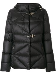 Fay Hooded Padded Jacket Women Feather Down Polyamide L Black