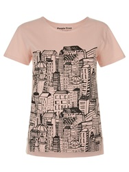 People Tree City Tee Pink