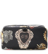 Dolce And Gabbana Printed Cosmetics Case Black