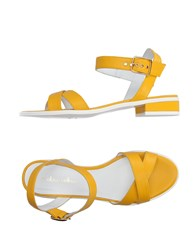 Mellow Yellow Sandals Yellow