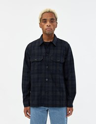 Norse Projects Kyle Wool Shirt In Dark Navy