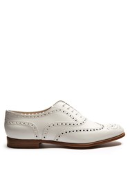 Church's Burwood Leather Brogues White