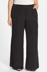 Halogen Palazzo Pants Plus Size Black