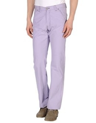 Versace Collection Casual Pants Lilac