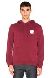 Undefeated Interference Hoodie Red