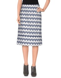 Ottod'ame Skirts Knee Length Skirts Women Dark Blue