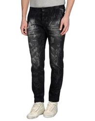 Entre Amis Men Denim Pants Steel Grey