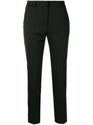 Mauro Grifoni Tailored Cropped Trousers Black
