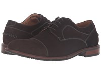 Florsheim Frisco Cap Toe Oxford Brown Nubuck Men's Lace Up Cap Toe Shoes