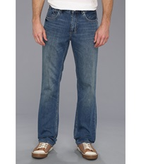 Tommy Bahama New Cooper Authentic Jean Medium Worn Wash Men's Jeans Blue