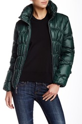 Guess Channel Down Jacket Green
