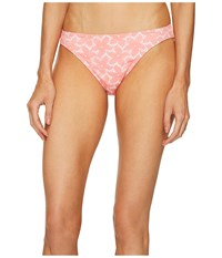 Letarte Daisy Lace Bottoms Pink Coral Women's Swimwear
