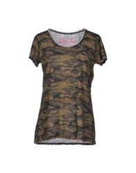 Odi Et Amo T Shirts Military Green