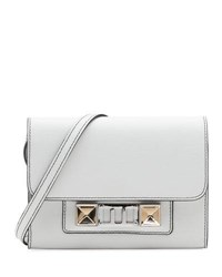 Proenza Schouler Ps11 Leather Wallet On Strap White