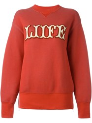 Sacai Life Sweatshirt Red