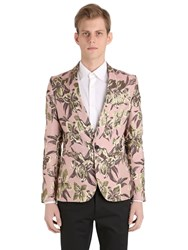 Christian Pellizzari Lurex Floral Jacquard Jacket For Lvr