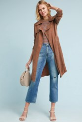 Moth Carrie Trench Coat Taupe