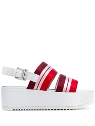 Kennel Schmenger And Flatform Sandals Red