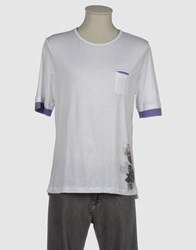 Ermanno Scervino Scervino Street Topwear Short Sleeve T Shirts Men White