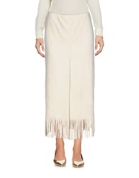 Marc Cain 3 4 Length Skirts Beige