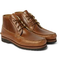 Quoddy Telos Cavalier Leather Chukka Boots Brown