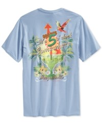 Tasso Elba Big And Tall 5 O'clock Somewhere Graphic Print T Shirt Only At Macy's