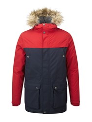Tog 24 Men's Farley Mens Milatex Parka Jacket Red