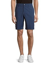 Callaway Windowpane Check Shorts Bright White