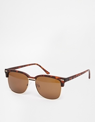 A. J. Morgan Aj Morgan Clubmaster Sunglasses Tort