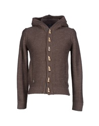 North Sails Cardigans Dark Brown