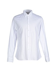 Care Label Shirts Shirts Men White