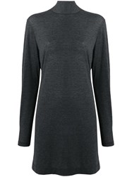Iro Cassy Sweater Dress Grey