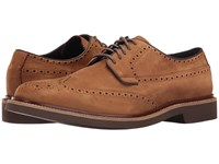 Cole Haan Briscoe Wing Oxford Bourbon Nubuck Men's Lace Up Casual Shoes Brown