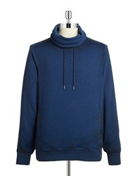 Guess Funnel Neck Sweatshirt Blue