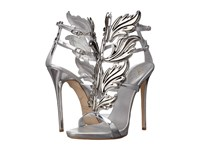 Giuseppe Zanotti High Heel Winged Sandal Shooting Argento Women's Shoes Gold
