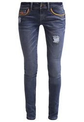 Superdry Happy Slim Fit Jeans Malibu Happy Blue Denim