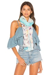 Michael Stars Cove Party Scarf Blue
