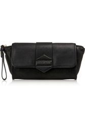 Marc By Marc Jacobs Flipping Out Leather Clutch Black