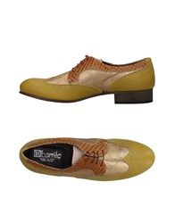 Ebarrito Lace Up Shoes Acid Green