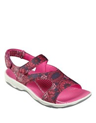Easy Spirit Yogala Sport Sandals Red Multi
