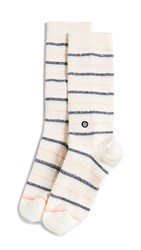 Stance Snazzy Socks Off White