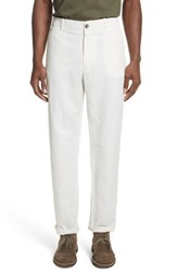 Eidos Napoli Morgan Cotton Chinos White