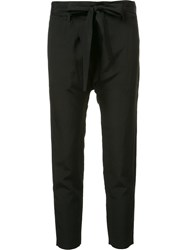 Nili Lotan Cropped Trousers Black