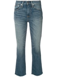 Polo Ralph Lauren Cropped Boot Cut Jeans Blue