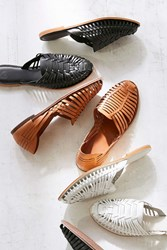 Urban Outfitters Uo Woven Huarache Sandal Brown